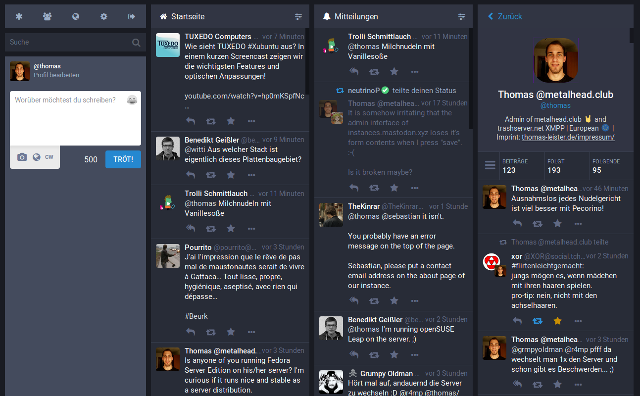 Mastodon Screenshot