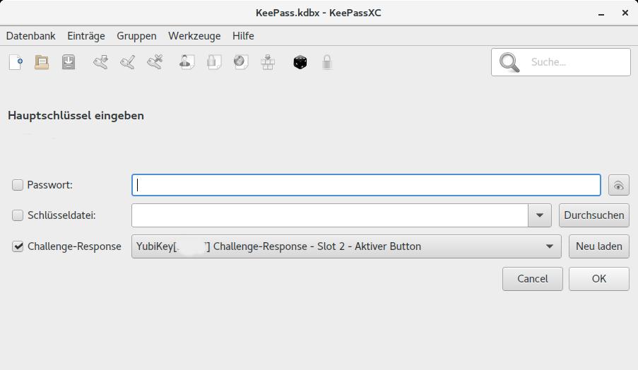 KeePassXC Screenshot